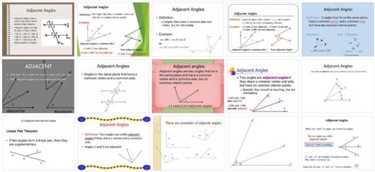 Adjacent Angles