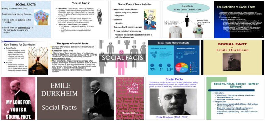 Social Facts