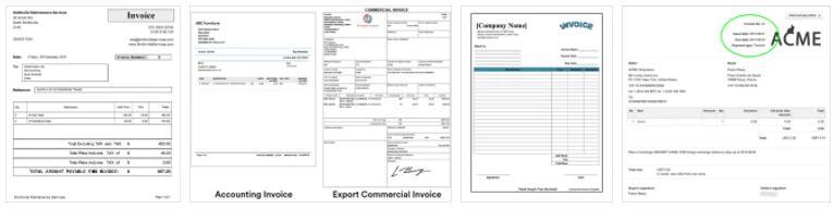 Invoice Types 2